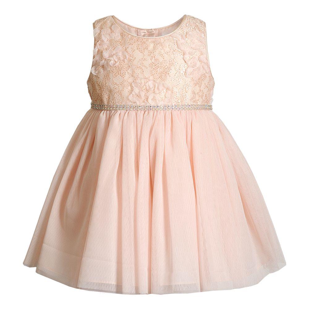 Baby Girl Youngland Glitter Dress