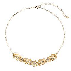 LC Lauren Conrad Flower Statement Necklace