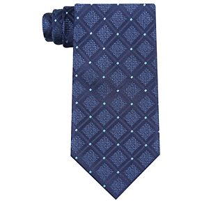 Men's Croft & Barrow® Desmont Grid Extra-Long Tie