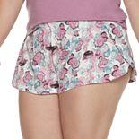 Plus Size Jockey® SoftTouch Pajama Shorts