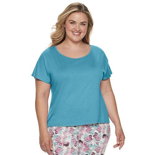 Plus Size Jockey® SoftTouch Pajama Tee