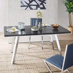 INK+IVY Obsidian Dining Table