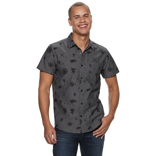 Men's Game of Thrones Button-Down Shirt