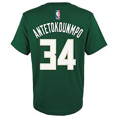 Boys 8-20 Milwaukee Bucks Giannis Antetokounmpo Tee