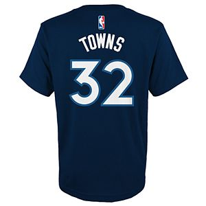 new product ac42b 2f040 Boys 8-20 Minnesota Timberwolves Karl-Anthony Towns Jersey Top