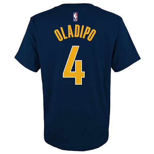 Boys 4-18 Indiana Pacers Victor Oladipo  Name & Number Tee