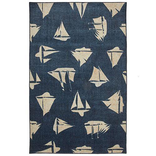 Mohawk® Home Prismatic Blue Boats EverStrand Rug