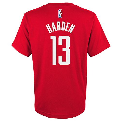 Boys 4-18 Houston Rockets James Harden Tee