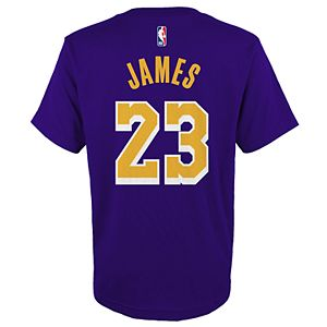 competitive price fec0e 1a556 Boys 8-20 Los Angeles Lakers Lebron James Jersey Top
