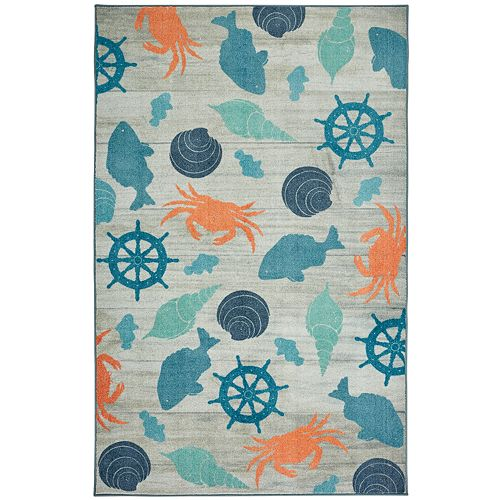Mohawk® Home Prismatic Coastal Otomi EverStrand Rug
