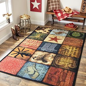 Mohawk® Home Prismatic Cowboy Patches EverStrand Rug
