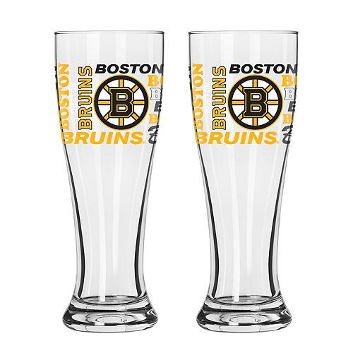 Boelter Boston Bruins Spirit Pilsner Glass Set