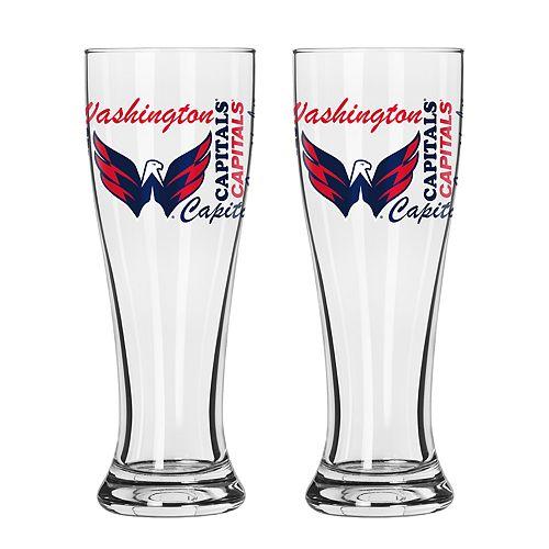 Boelter Washington Capitals Spirit Pilsner Glass Set
