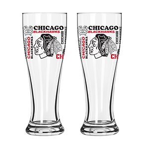 Boelter Chicago Blackhawks Spirit Pilsner Glass Set