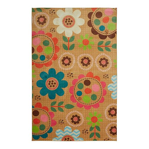 Mohawk® Home Prismatic Critters Floral EverStrand Rug