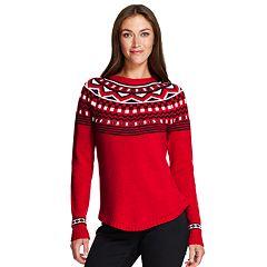 Women's IZOD Fairisle Sweater