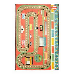 Mohawk® Home Prismatic Race Track Play EverStrand Rug