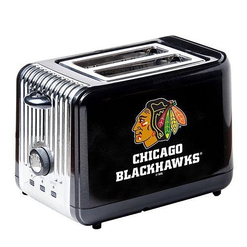 Chicago Blackhawks Two-Slice Toaster