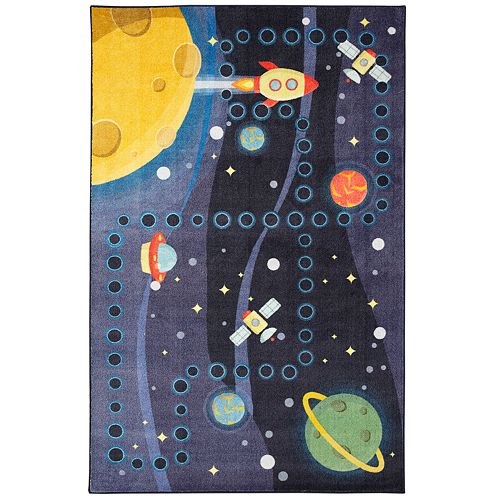 Mohawk® Home Prismatic Space Rocket EverStrand Rug
