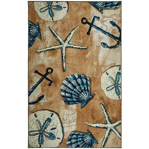 Mohawk® Home Prismatic Tide Pool Shells EverStrand Rug