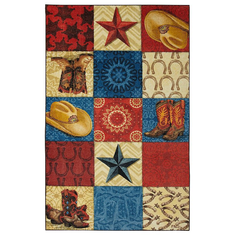 Mohawk Home Prismatic Western Square EverStrand Rug, 8X10 Ft Product Image