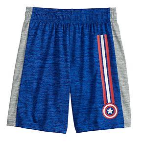 Boys 4-12 Jumping Beans® Marvel Captain America Striped Shorts
