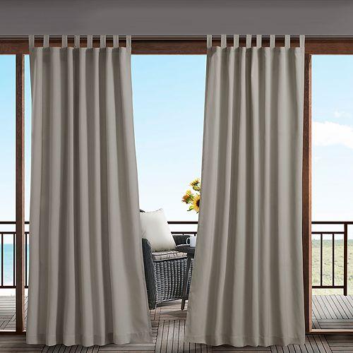 Madison Park Cannon 3M Scotchgard Outdoor Window Curtain