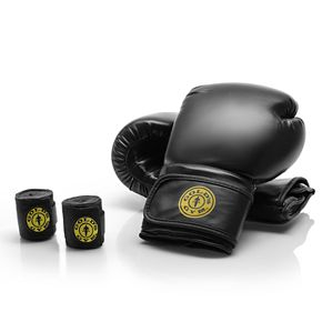 Golds Gym 100 lbs. Heavy Bag Boxing Kit