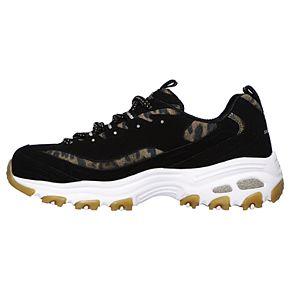 Skechers D'Lites Quick Leopard Women's Sneakers