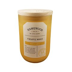 Hawkwood Pineapple Mango 13.6-oz. Wine Candle Jar