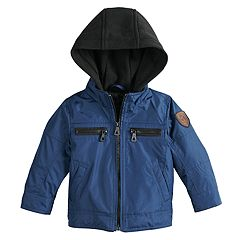Toddler Boy Urban Republic Cloud Ballistic Jack Hooded Midweight Jacket