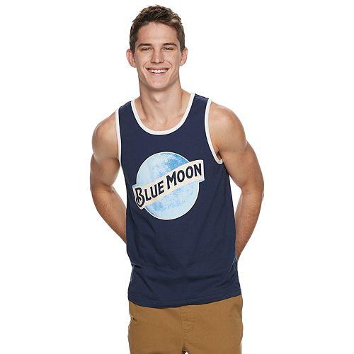 Men's Blue Moon Logo Tank Top
