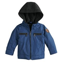 Baby Boy Urban Republic Cloud Ballistic Jack Hooded Midweight Jacket