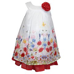 Toddler Girl Blueberi Boulevard Shift Floral Sundress