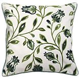 La Boheme Embroidered Throw Pillow