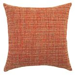 Textured Jacquard Solid Throw Pillow
