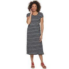 Women's Croft & Barrow® Slubbed Midi Dress