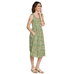235b77858e4b Women s Croft   Barrow® Print Challis Midi Dress