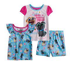 Toddler Girl Puppy Dog Pals Tops & Shorts Pajama Set