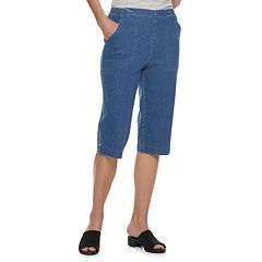 Women's Croft & Barrow® Classic Pull-On Skimmer Jeans