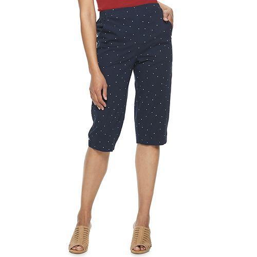 Women's Croft & Barrow® Classic Pull-On Skimmer Jeans