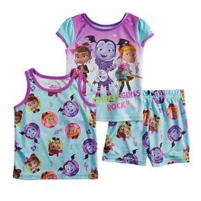 Disney's Vampirina Toddler Girl Tops & Shorts Pajama Set
