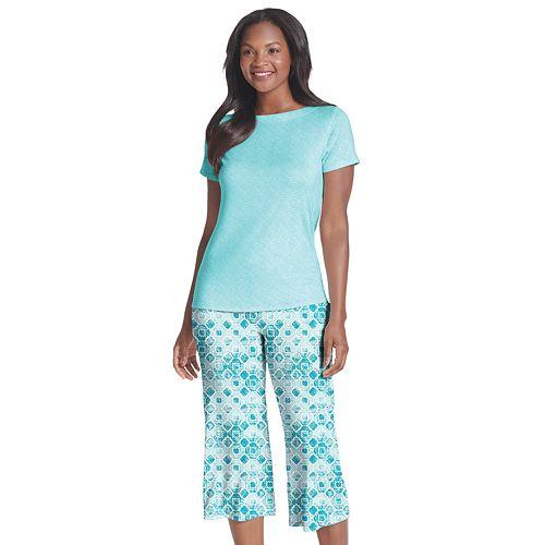 Women's Jockey® Send Her Love Sleep Tee & Pajama Capri Set