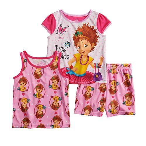 Disney's Fancy Nancy Toddler Girl Tops & Shorts Pajama Set