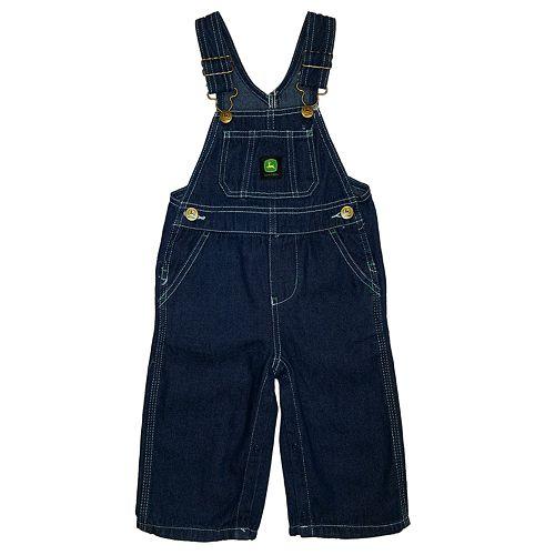 Toddler Boy John Deere Denim Bib Overalls