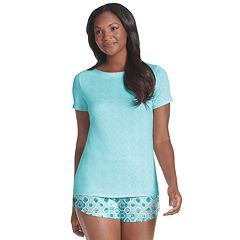 e3d748d43b1 Women's Jockey® Send Her Love Sleep Tee & Pajama Shorts Set