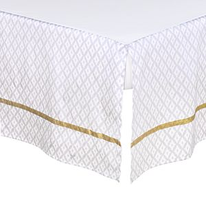 The Peanutshell 3 Piece Boho Elephants Crib Bedding Set