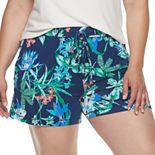 Plus Size Jockey® Tropical Paradise Pajama Shorts