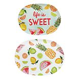 Celebrate Summer Together 2-pc. Fruit Tray Set