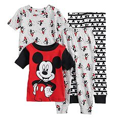 576740bf7d Disney s Mickey Mouse Toddler Boy Tops   Bottoms Pajama Set